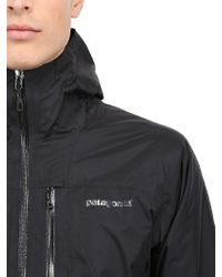 Patagonia - Black Insulated Torrentshell Jacket for Men - Lyst