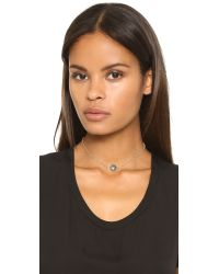 Ela Rae - Metallic Libi Two Necklace - Labradorite - Lyst