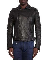 Balmain | Black Leather Jacket | Lyst