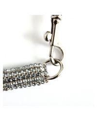 Atelier Swarovski - Swarovski Slim Crystal Bolster Necklace Blue Shade - Lyst