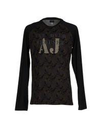 Armani Jeans | Brown T-shirt for Men | Lyst