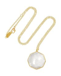 Ippolita | Blue Rock Candy 18-Karat Gold Quartz Necklace | Lyst