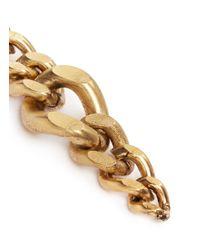 Ela Stone - Metallic 'editha' Graduated Chain Earrings - Lyst
