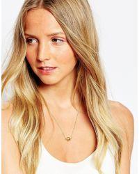 Gorjana | Metallic Nugget Necklace | Lyst