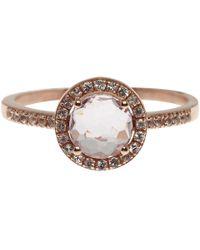Suzanne Kalan | Pink Rose Gold Rose De France Ring | Lyst