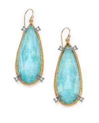 Alexis Bittar | Blue Spike Drop Earrings | Lyst