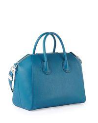 Givenchy - Blue Antigona Medium Tote - Lyst
