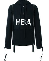 Hood By Air | Black Hba Print Hoodie for Men | Lyst