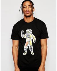 Billionaire Boys Club - Ice Cream | Black T-shirt With Astronaut Print for Men | Lyst