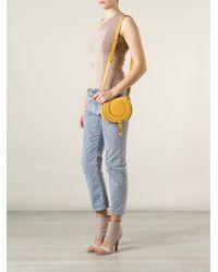 Chloé - Yellow 'Marcie' Shoulder Bag - Lyst