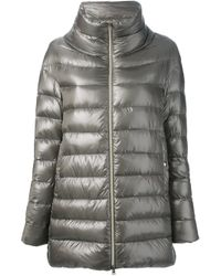 Herno | Metallic Padded Coat | Lyst