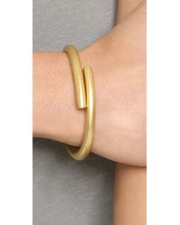 Madewell | Metallic Open Bar Bracelet | Lyst