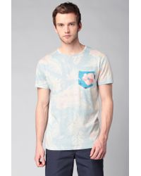 Volcom - Blue T-shirt for Men - Lyst