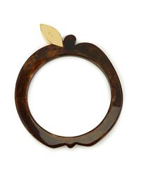 A.P.C. | Brown Women's Eve Bracelet | Lyst