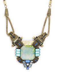 BaubleBar - Blue Lady Godiva Amulet - Lyst