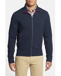 Victorinox | Blue Full Zip Track Jacket for Men | Lyst