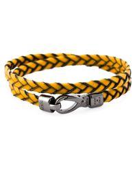 Tod's | Yellow 'my Colours' Bracelet | Lyst