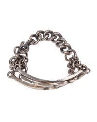 Tobias Wistisen | Metallic Chunky Chain Bracelet for Men | Lyst