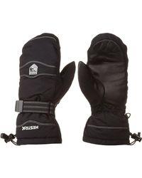 Hestra - Black Cozy Mitten for Men - Lyst