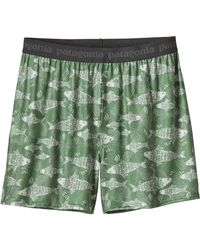 Patagonia - Green Capilene Daily Boxers for Men - Lyst