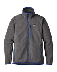 Patagonia - Gray Performance Better Sweater Fleece Jacket for Men - Lyst