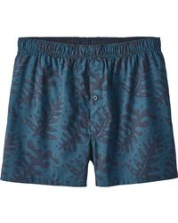 Patagonia - Blue Go-to Boxer for Men - Lyst