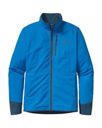 Patagonia - Blue All Free Softshell Jacket for Men - Lyst