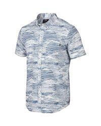 Oakley | White Grain Woven Shirt for Men | Lyst