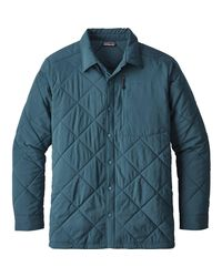 Patagonia Blue Tough Puff Insulated Shirt for men
