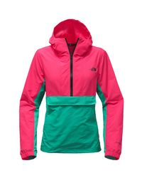The North Face - Red Crew Run Wind Anorak Jacket - Lyst