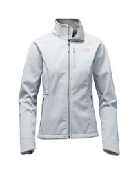 The North Face - Gray Apex Bionic 2 Softshell Jacket - Lyst