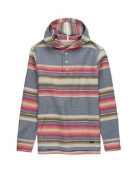 Faherty Brand - Multicolor Pacific Hooded Poncho for Men - Lyst