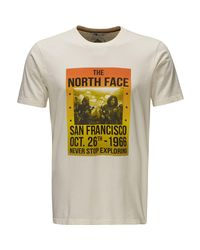 The North Face White Cali Roots T-shirt - Short-sleeve for men