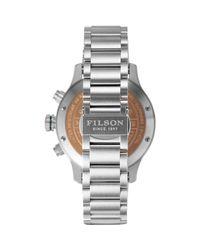 Filson | Multicolor Mackinaw Field Chrono Stainless Steel Watch for Men | Lyst