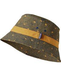 9b492458736 Lyst - Patagonia Wavefarer Bucket Hat for Men