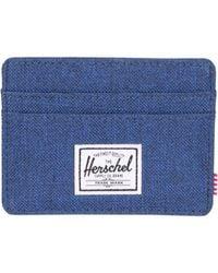 Herschel Supply Co. - Blue Charlie Card Wallet for Men - Lyst