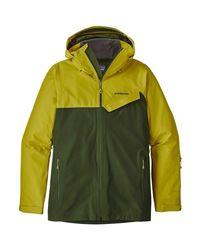 Patagonia - Green Powder Bowl Jacket for Men - Lyst