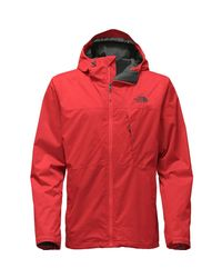 The North Face - Red Arrowood Triclimate Hooded 3-in-1 Jacket for Men - Lyst