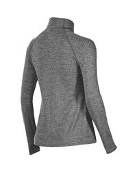 Asics - Gray Lite-show Shirt - 1/2-zip - Lyst