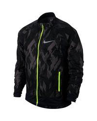 Nike - Black Flex Trail Jacket for Men - Lyst