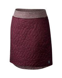 Mountain Hardwear - Purple Trekkin Insulated Knee Skirt - Lyst