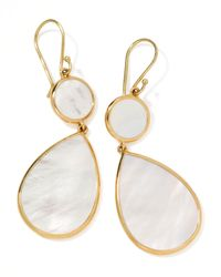 Ippolita | White Rock Candy Snowman Earrings | Lyst