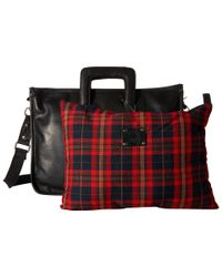 Will Leather Goods - Black Eli Attache - All Leather for Men - Lyst