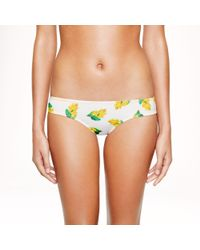 J.Crew | Yellow Mini Botanical Print Surf Hipster | Lyst