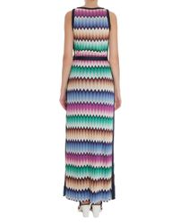 Missoni - Multicolor Crochet-knit Maxi Dress - Lyst