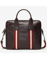 1db6727f164b Bally Tedal Medium Men ́s Leather Business Bag In Chocolate in Brown ...