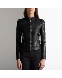 Bally | Black Nappa Leather Jacket | Lyst