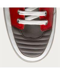 Bally - Red Etlan Men ́s Leather Sneakers In Grey for Men - Lyst