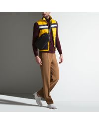 Bally - Yellow Fine Knit Roll Neck Sweater for Men - Lyst