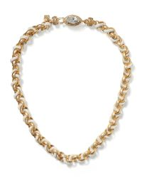 Banana Republic | Metallic Rope Chain Necklace | Lyst